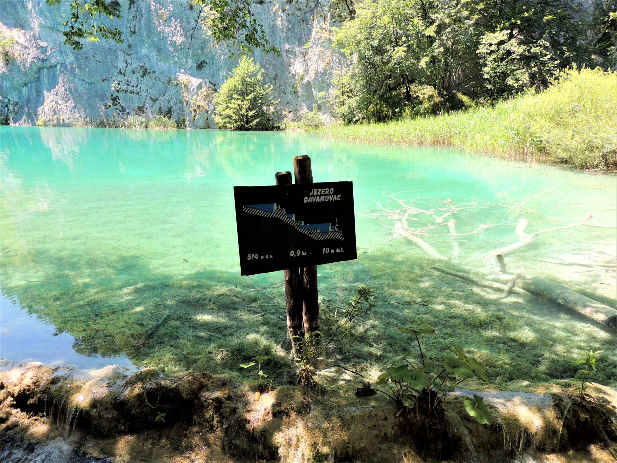 Jezioro Gavanovac – Jeziora Plitwickie, Chorwacja.