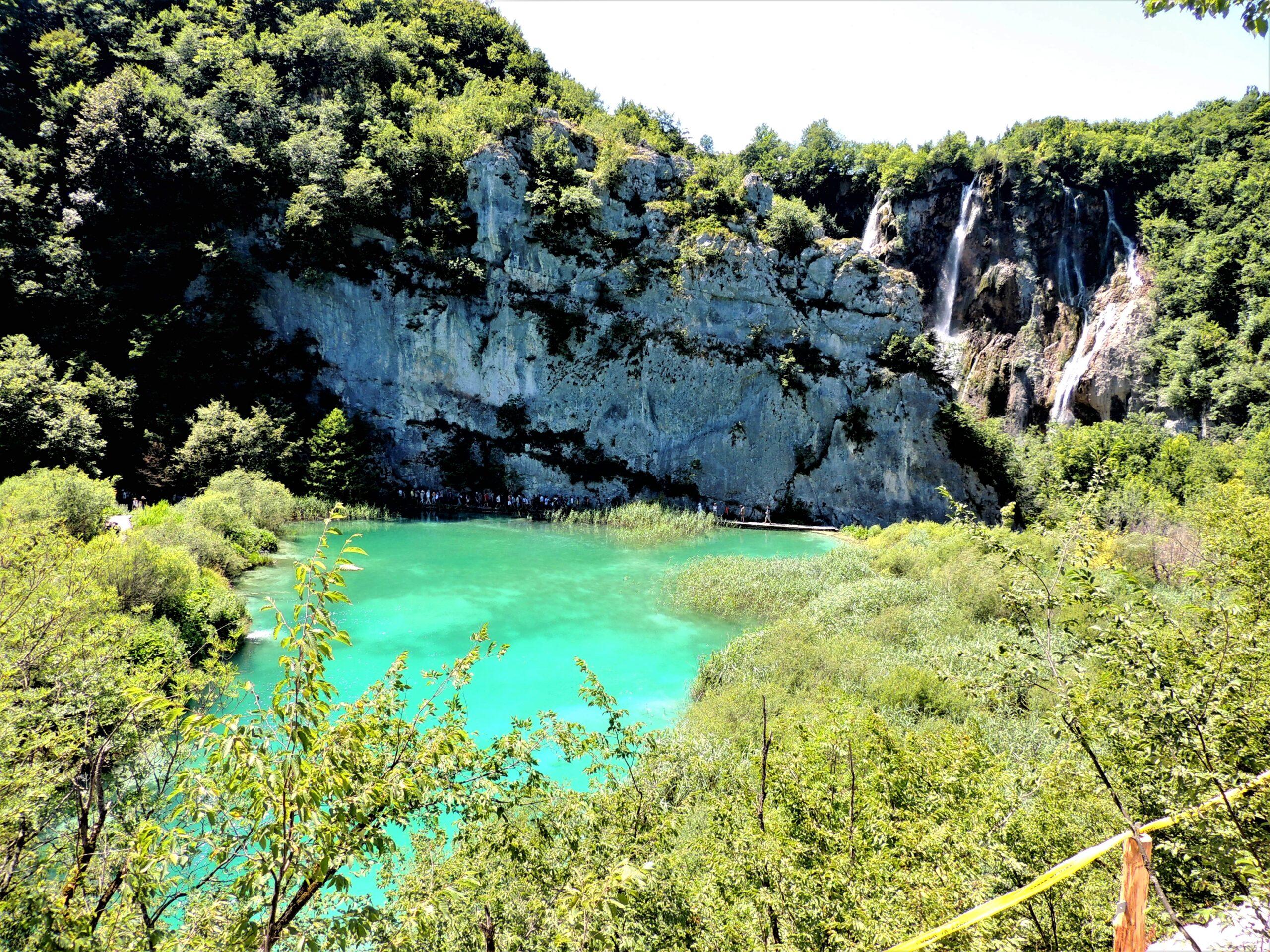 Jezioro Kozjak – Jeziora Plitwickie, Chorwacja.