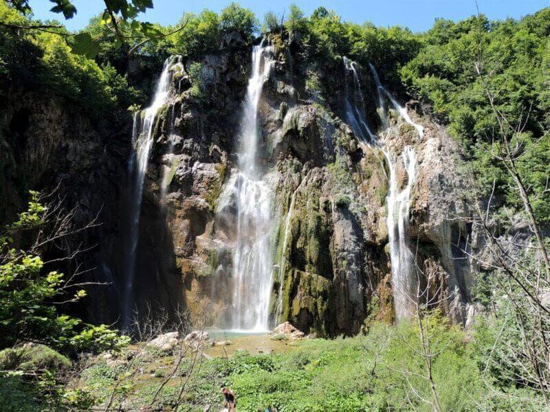 Wodospady – Jeziora Plitwickie, Chorwacja.