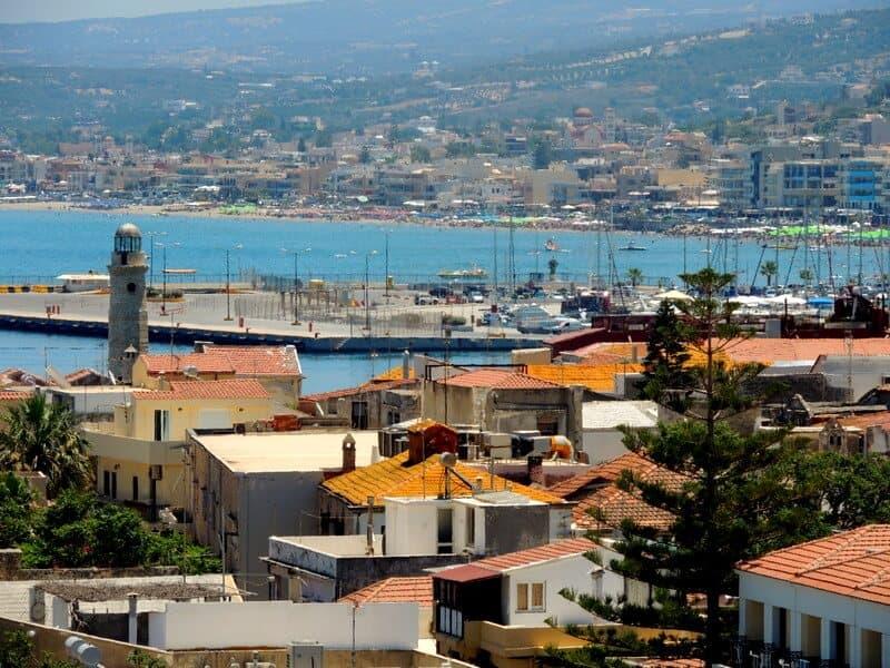 Port morski – Chania, Kreta, Grecja.