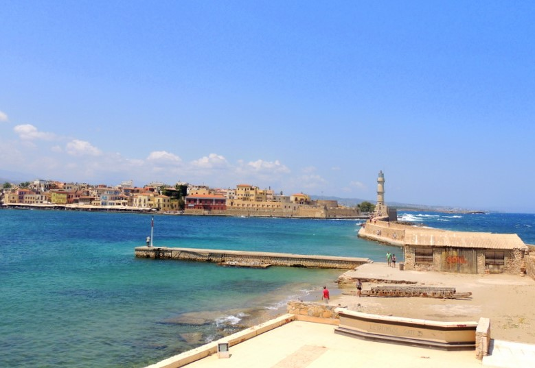 Latarnia morska – Chania, Kreta, Grecja.